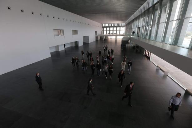 Der Innenbereich von Palmas Kongresspalast