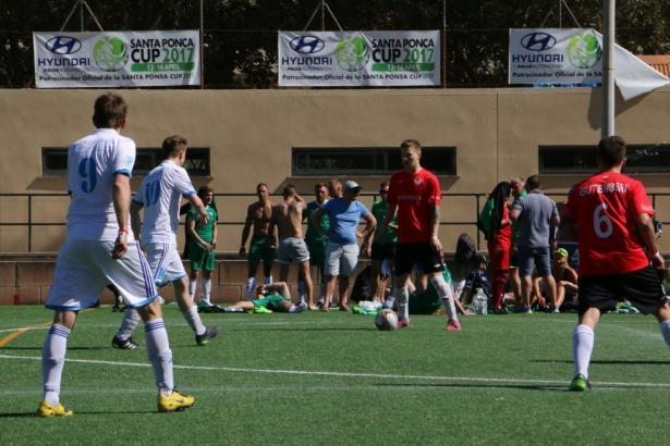 "Das Fußballturnier ""Mallorca Football Tournaments"" findet auf dem Sportplatz in Santa Ponça statt."