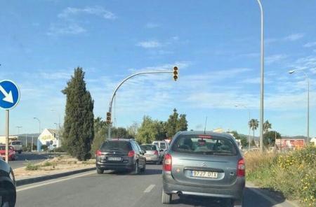 Das Ampelsystem soll am Kreisverkehr von Son Castelló installiert werden