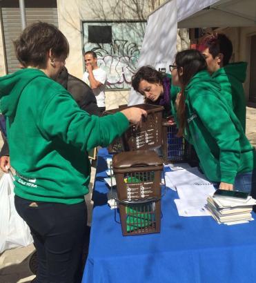 14.000 Haushalte in der Altstadt von Palma haben die neuen Recycling-Kits bekommen.