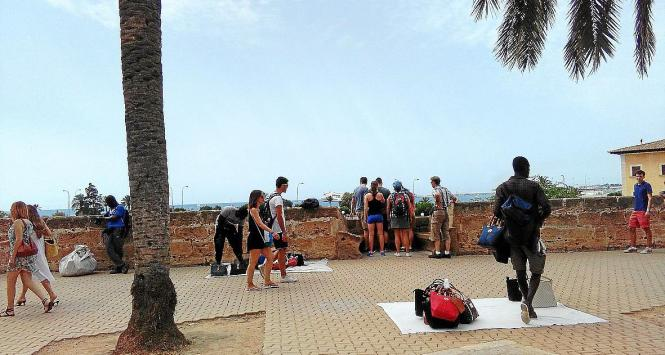 Die Straßenhändler sind auf Mallorca immer wieder ein Aufregerthema.