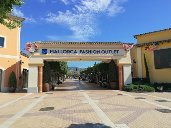 Der ehemalige Festival Park heißt jetzt Mallorca Fashion Outlet.