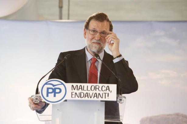 Mariano Rajoy kündigt Wohltaten für Mallorca an.