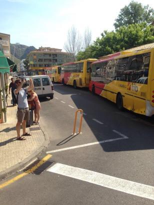 In Pollença soll eine weitere Haltestelle entsehen, von der aus auch die neuen Shuttle-Busse abfahren