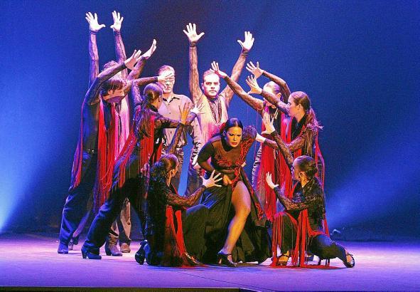 """Das spanische Ballett versucht sich an """"Carmen"""" von Georges Bizet"""