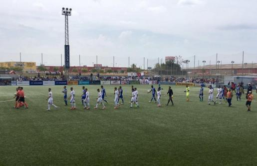 Der Fußball-Drittligist Atlético Baleares konnte in letzter Minute den Ausgleichstreffer erzielen