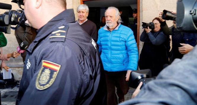 Der Unternehmer Bartolomé Cursach bei seiner Festnahme im März