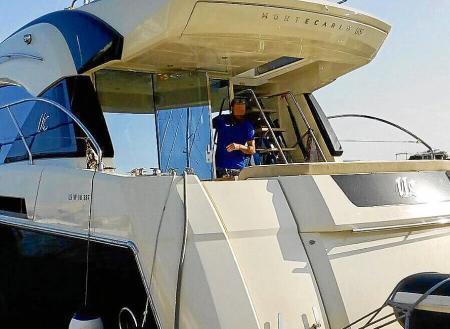 Die Männer waren mit einer Yacht unter französischer Flagge auf dem Meer unterwegs
