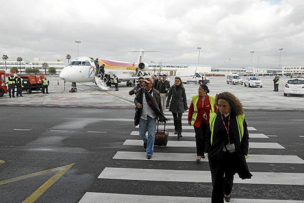Die Flüge zwischen Mallorca und den Nachbarinseln werden zu 90 Prozent von Residenten genutzt, vor allem in der Nebensaison.