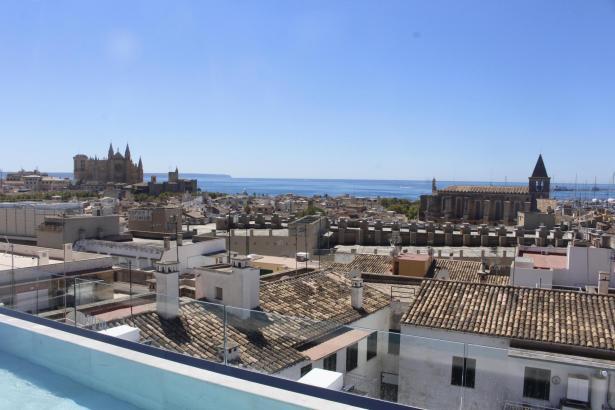 Begehrt: Die Altstadt von Palma.