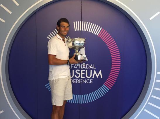 Rafael Nadal betreibt in Manacor auch ein Tennis-Internat mit Sport-Museum.