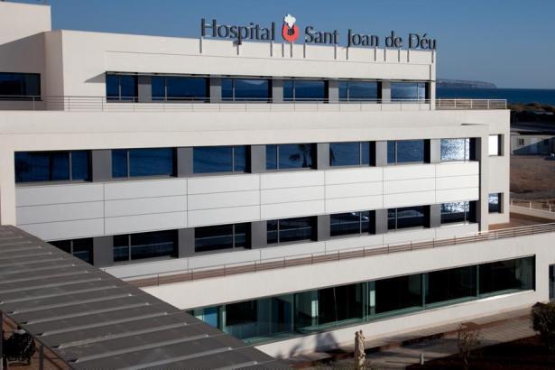 Das Krankenhaus Sant Joan de Déu in Palma