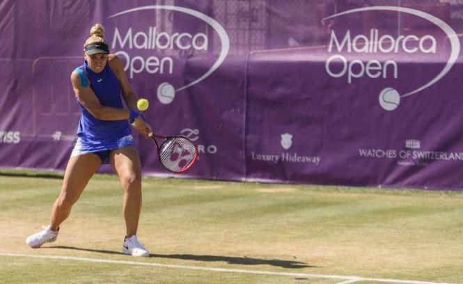Sabine Lisicki spielte zum ersten Mal seit Monaten wieder Turnier-Tennis.