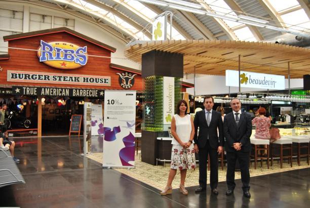 Der neue Shopping-Bereich im Terminal C auf Mallorca ist offiziell eröffnet.