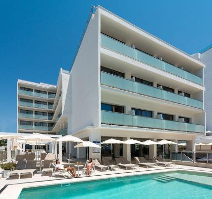 Das renovierte Allsun-Hotel Riviera Playa an der Playa de Palma.