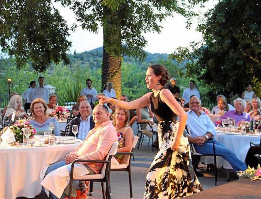 Das Hotel Castell Son Claret auf Mallorca bietet kulinarischen und musikalischen Hochgenuss.