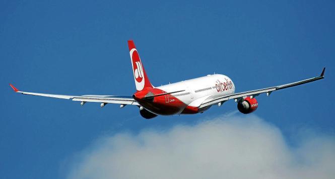 Ein Bild aus den Zeiten, als Air Berlin noch im Steigflug war.
