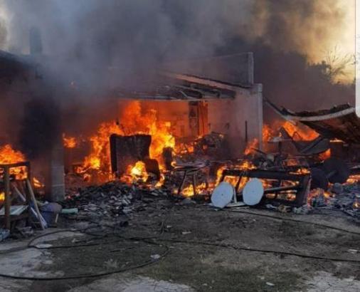 Die Finca in Llubí ist vollständig ausgebrannt