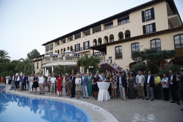 Rund 300 Geladene feierten den 25. Geburtstag des Sheraton Mallorca Arabella Golf Hotels.