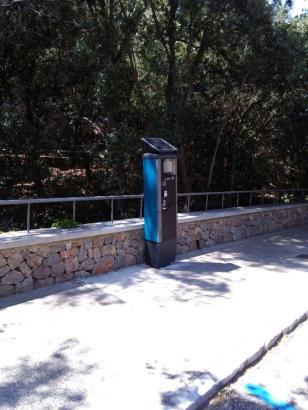 Die neuen Parkschein-Automaten an der Cala Tuent und in Sa Calobra sind seit Dienstag in Betrieb