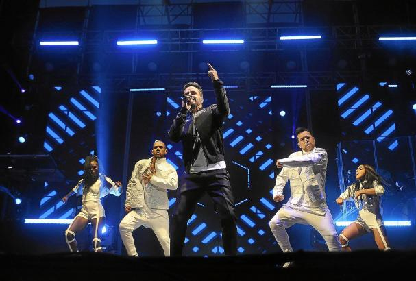 Luis Fonsi tourt derzeit durch die Welt. Anfang Juli gab der Sänger ein Konzert in Palmas Stierkampfarena