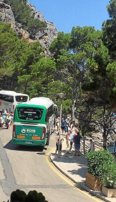 Die Zufahrt von Bussen und Privatwagen in die Tramuntana soll begrenzt werden
