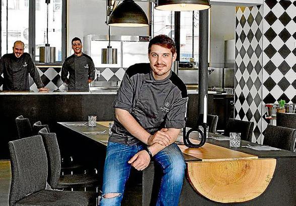 Der Top-Chef-Gewinner und sein Team stehen für Top-Küche in modernem Ambiente.