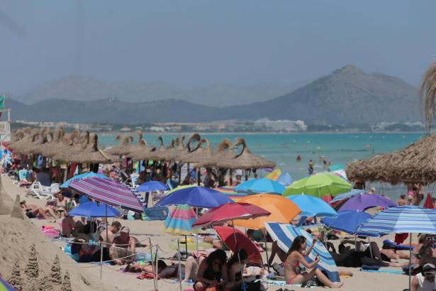 Der Urlauber-Boom ist einer der wichtigsten Faktoren des Wirtschaftsaufschwungs der Balearen