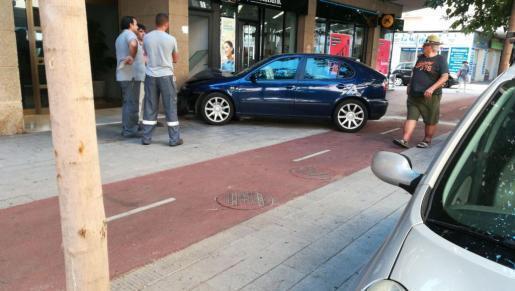 Der Unfall ereignete sich in Palma, in der Carrer de l'Arxiduc Lluís Salvador