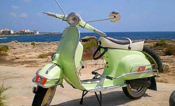 Diese grüne Vespa 150 war verschwunden und ist nun wieder im Besitz ihres Eigentümers.