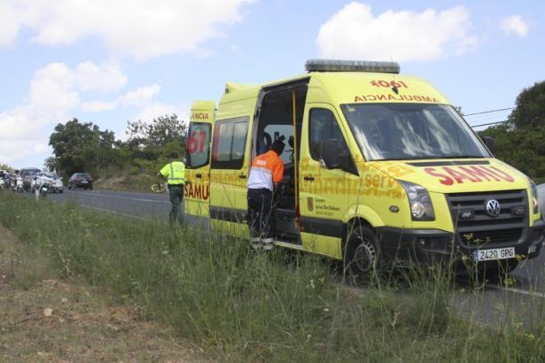 Rettungskräfte vor Ort auf Mallorca.