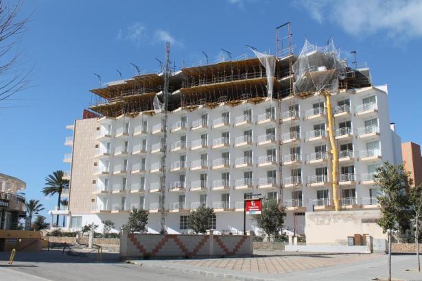 Durch Umbauarbeiten versuchen viele Hoteliers ihre Häuser aufzuwerten