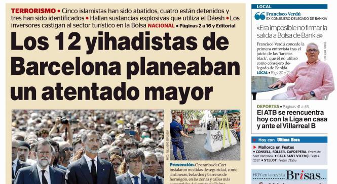 So berichtet die mallorquinische Tageszeitung Ultima Hora am Samstag.