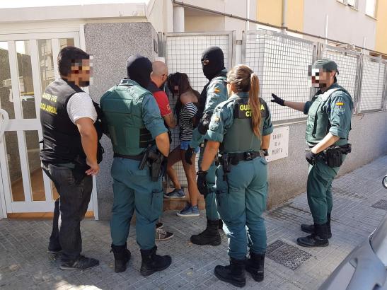 Am Donnerstag hat die Polizei auf Mallorca mehrere Mitglieder einer Einbrecherbande festgenommen.