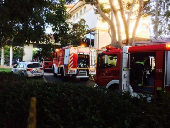 Die Feuerwehr musste am Montag zur Brandbekämpfung in Port Adriano anrücken.