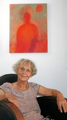 """Dorothee Schäfer: """"Beim Malen stehst du immer vor dir selbst."""""""