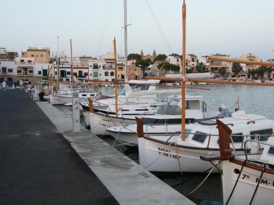 Der Hafen von Portocolom untersteht der Verwaltung der Balearen-Regierung