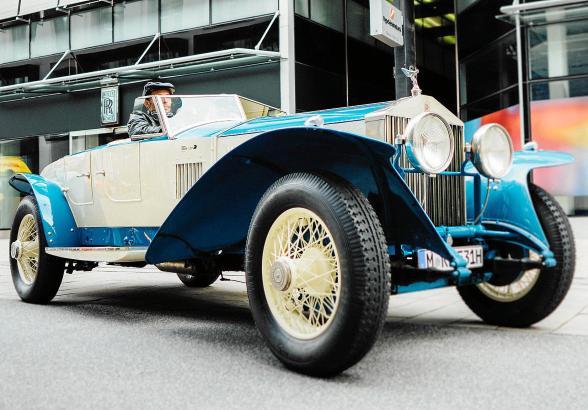 Dieser Rolls-Royce Phantom 10 EX, Baujahr 1926, ist ein Unikat