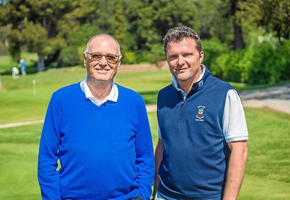 Unternehmer Frank O. Blochmann (l.) ist seit 2013 Präsident von Golf Son Servera. Im selben Jahr wurde Stefano Borlotti zum Dire