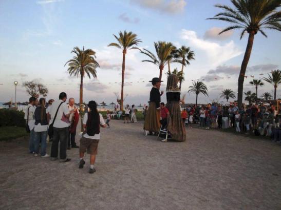 Hier Archivbilder vom Touristenfest in Cala Millor aus dem Vorjahr
