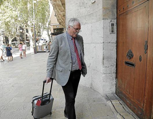 Der Architekt Ralph Schürmann reiste für einen Tage nach Palma, um seine Aussage zu machen