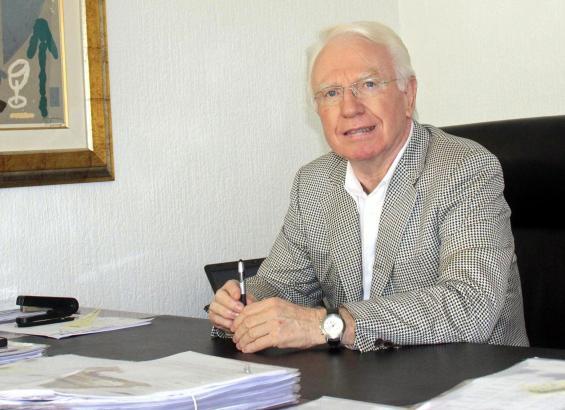 Federico Knuchel ist Präsident des Golfclubs Alcanada.