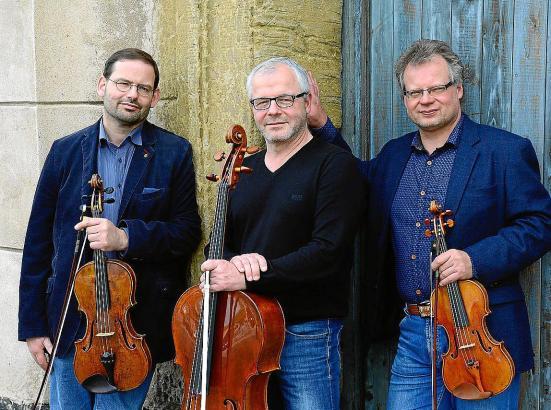"Sebastian Herberg, Michael Pfaender, Jörg Faßmann (v. l.): ""Wir stellen uns in den Dienst der Komponisten."""