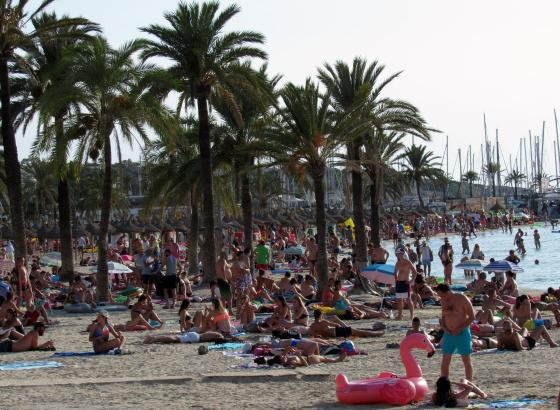 Mallorcas Strände waren in den vergangenen Monaten gut gefüllt.