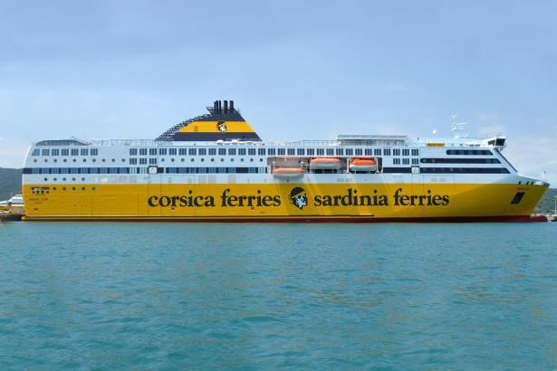 """Seit dem 1. Juni ist die neue Fähre """"Pascal Lota"""" von Corsica Sardinia Ferries im Einsatz nach Korsika und Sardinien."""