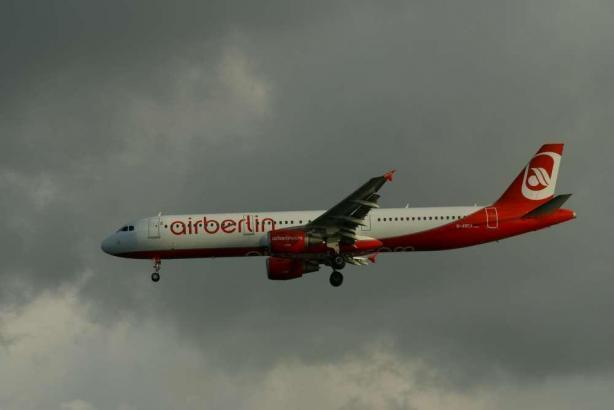 Air Berlin vor dem Grounding.