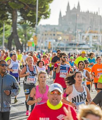 Bereits im Vorjahr zog der Marathon zahlreiche Teilnehmer an.