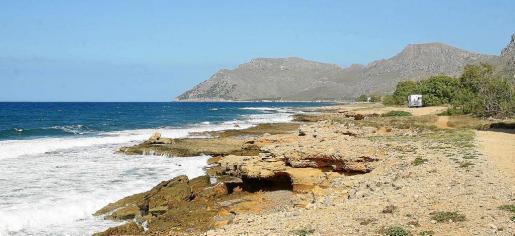 Der Küstenbereich der Finca Es Canons bei Artà im Nordosten von Mallorca.