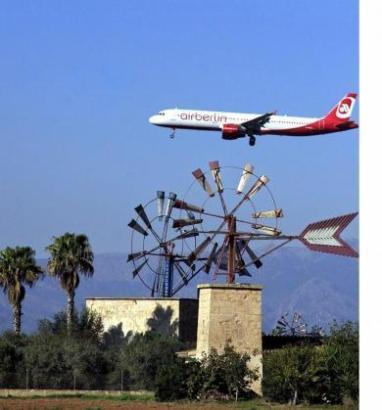 Noch sieht man die Air-Berlin-Maschinen am Airport Palma, auch wenn der Betrieb seit März vollständig von der Tochter Niki übern