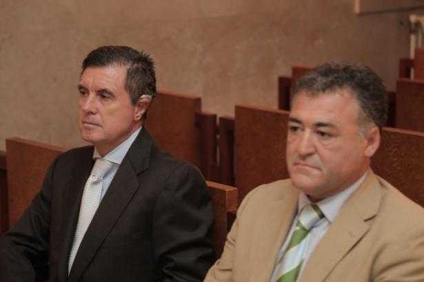 Jaume Matas (links) und José Luis Ballester.
